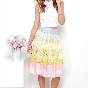 Olive +oak skirt